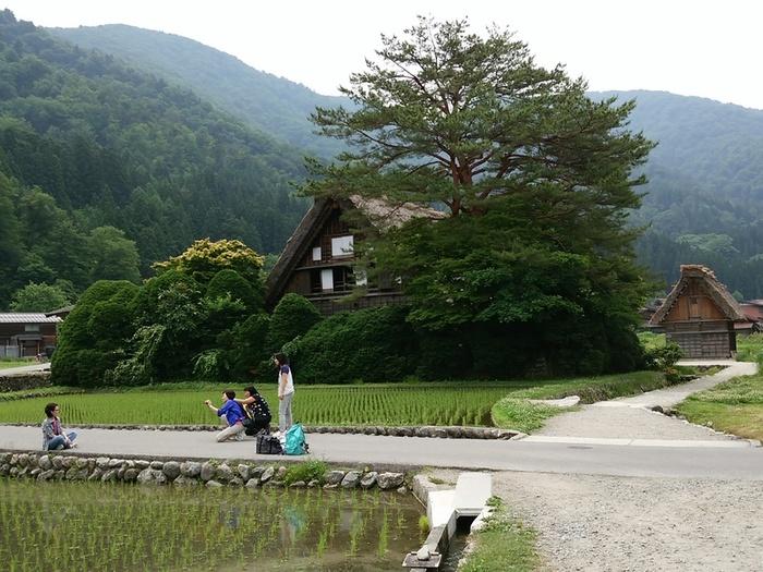 日本を感じるスポット白川郷 ④