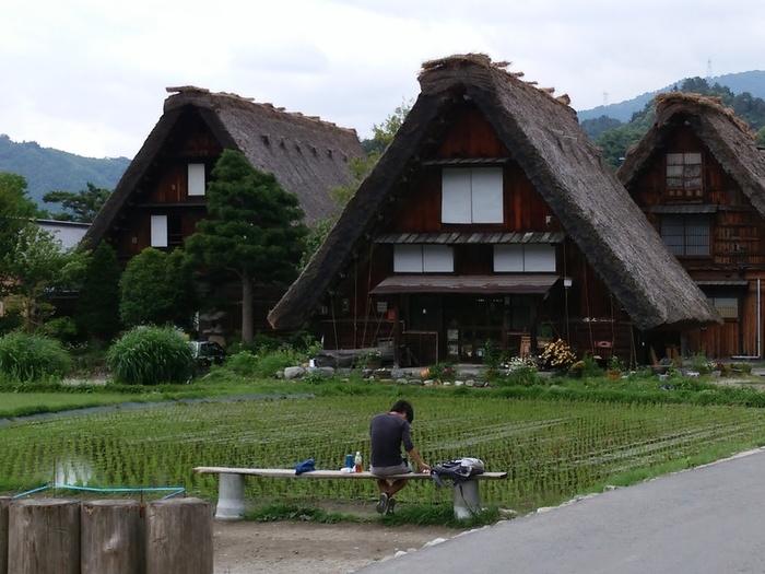 日本を感じるスポット白川郷 ⑧