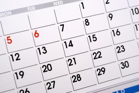 今年のカレンダーをボーっと、いや真剣に見てると…