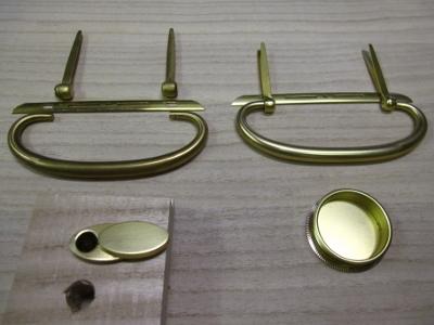 桐たんすリフォーム、新規、真鍮磨き金具
