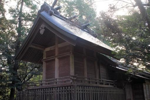 富能加神社本殿