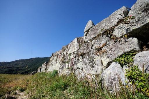 凌雲寺跡の石垣