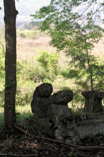 先代の狛ワンコ