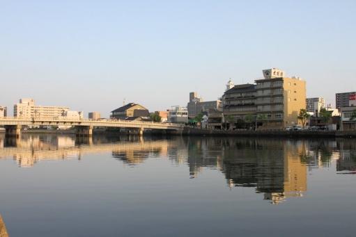 富田旅館のあった、現在の大橋館