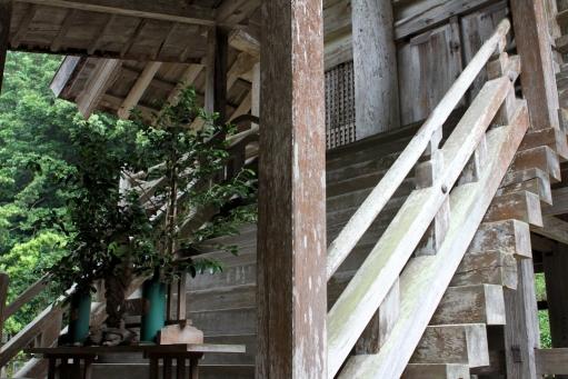 神魂神社の階段
