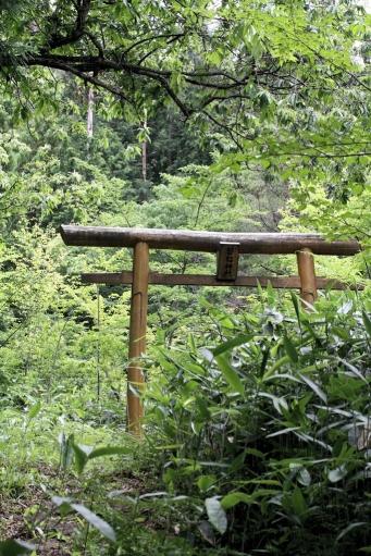 磐船神社の参道
