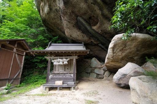 磐船神社本殿