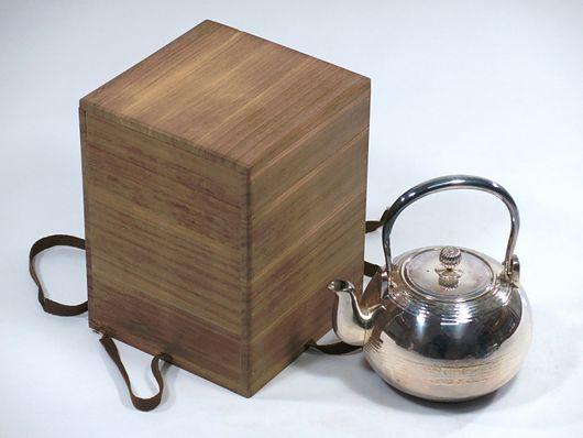 寶泉堂造 銀瓶 湯沸 煎茶道具