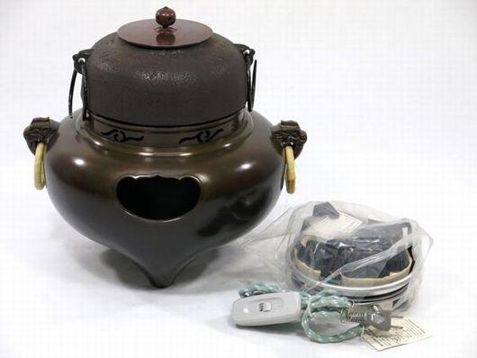 風炉釜 電熱器