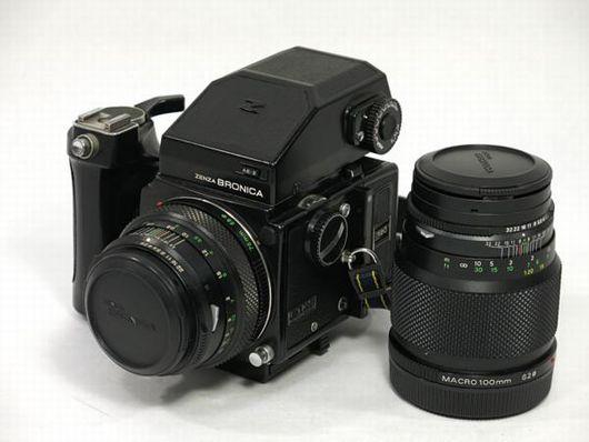 ゼンザブロニカ カメラ