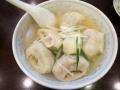 天鴻餃子房のスープ水餃子150325