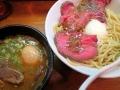 いつ樹の味玉つけ麺濃厚牛肉汁150429