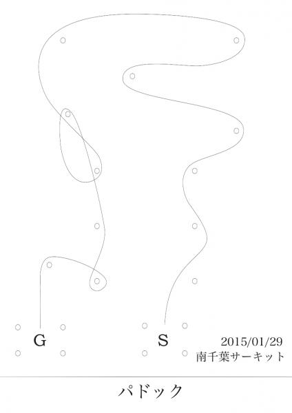南千葉練習 コース図1/29