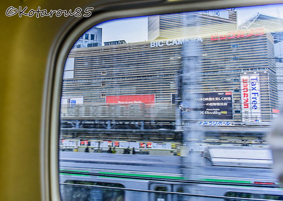 新幹線からの有楽町 20150123