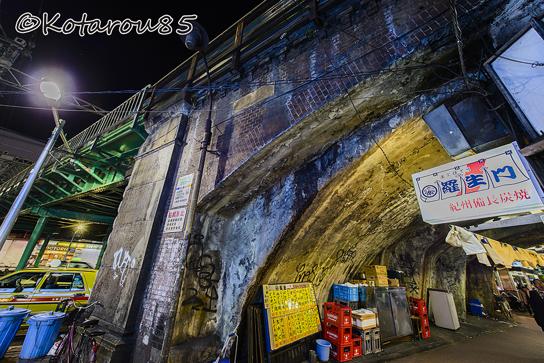新橋ガード下 20150129
