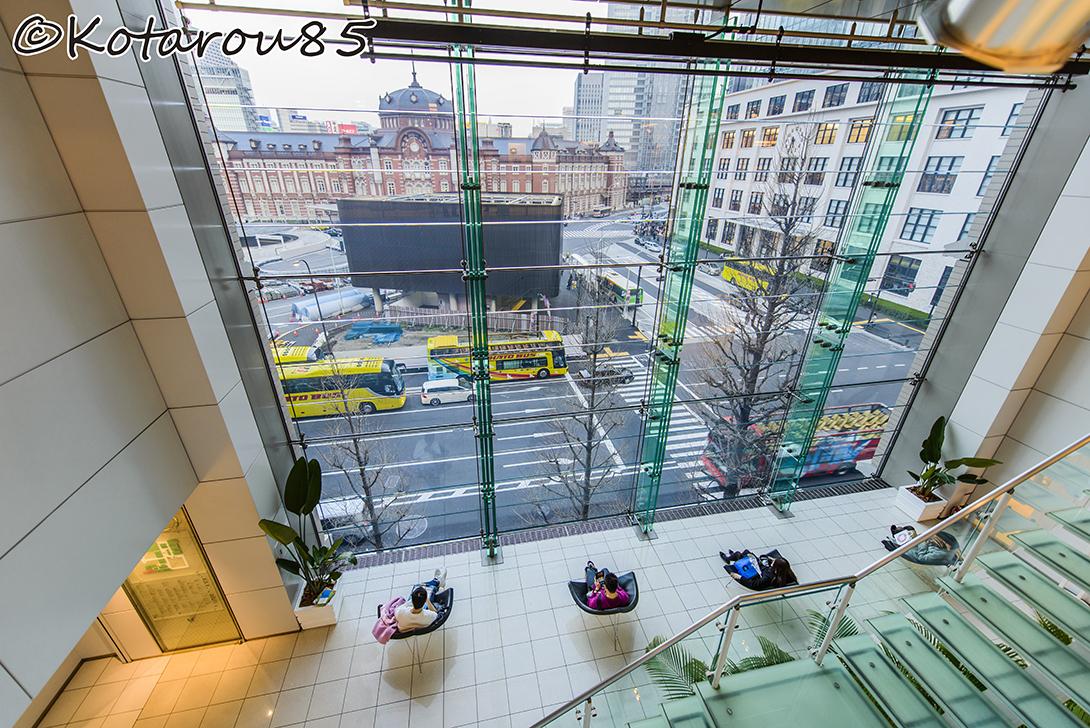 東京駅を見ながら 20150323