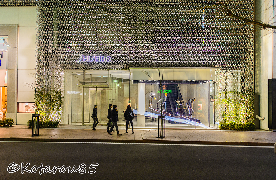 資生堂銀座ビル 20150324