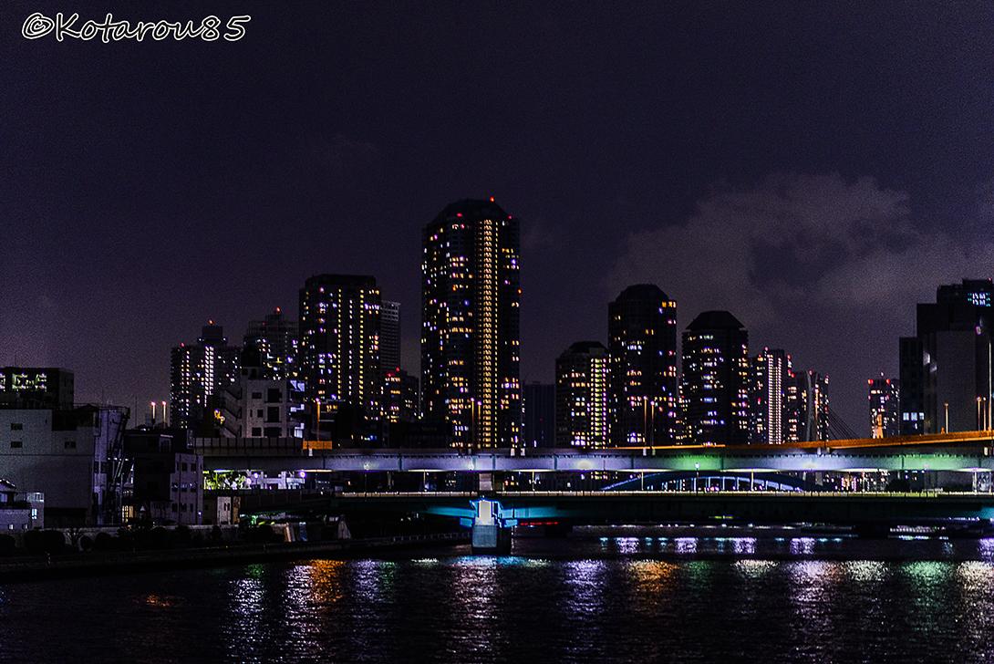 佃島遠景 20150504