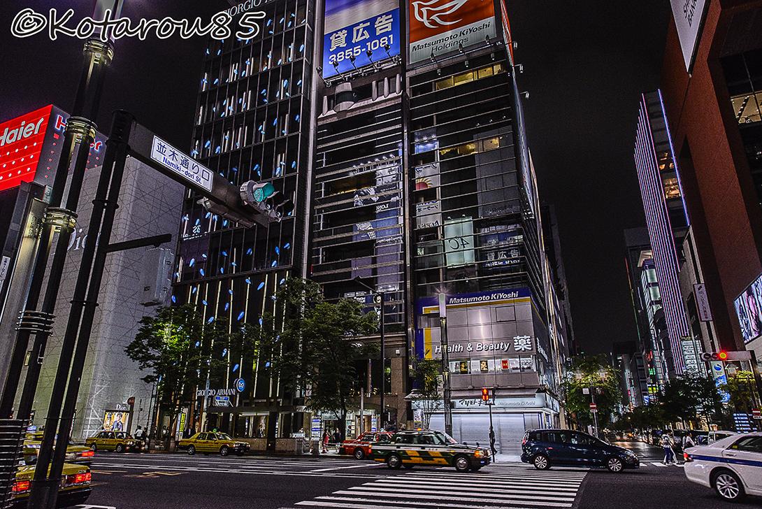 銀座・並木通り口 20150521