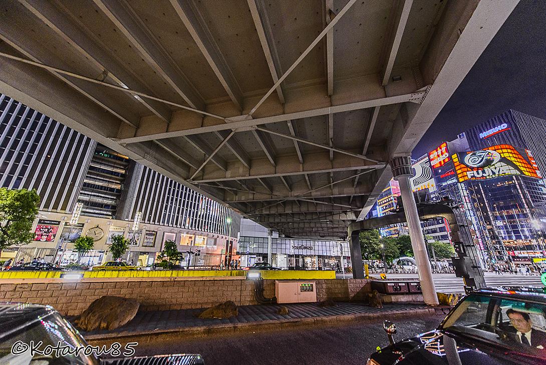 数寄屋橋の下で 20150524