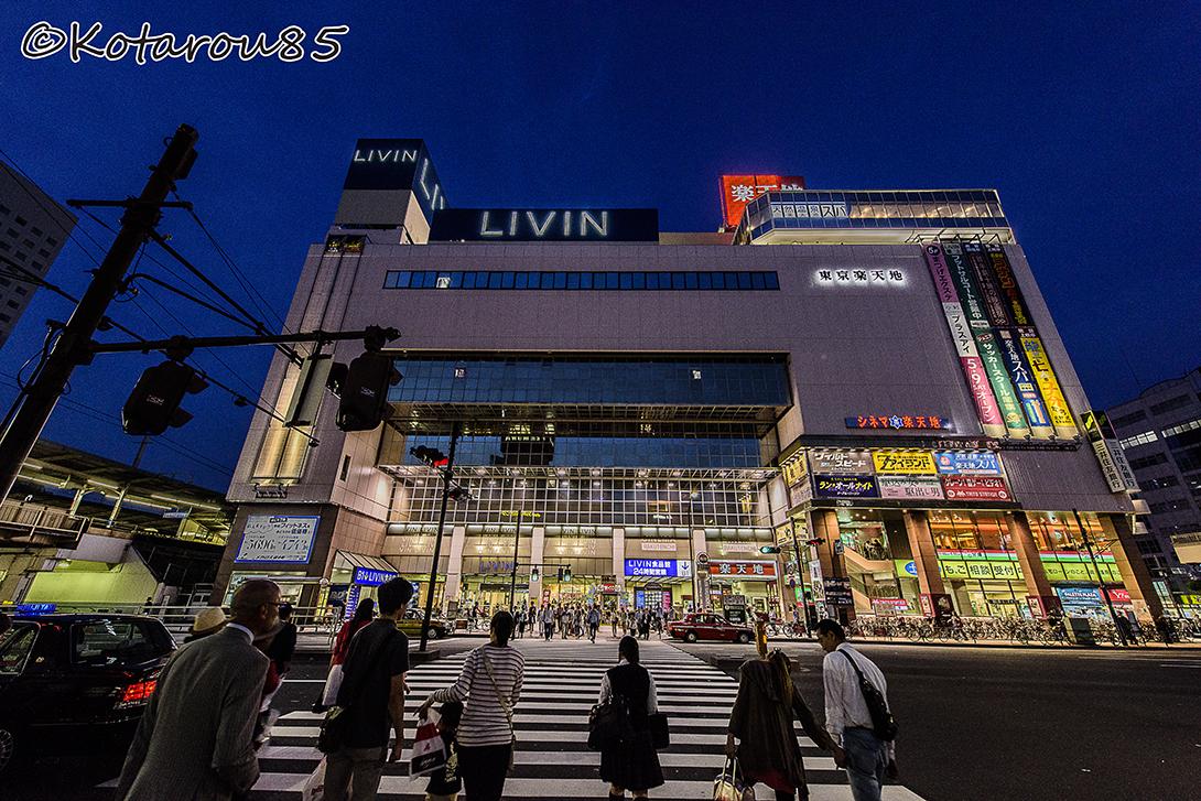 錦糸町夕景 20150525