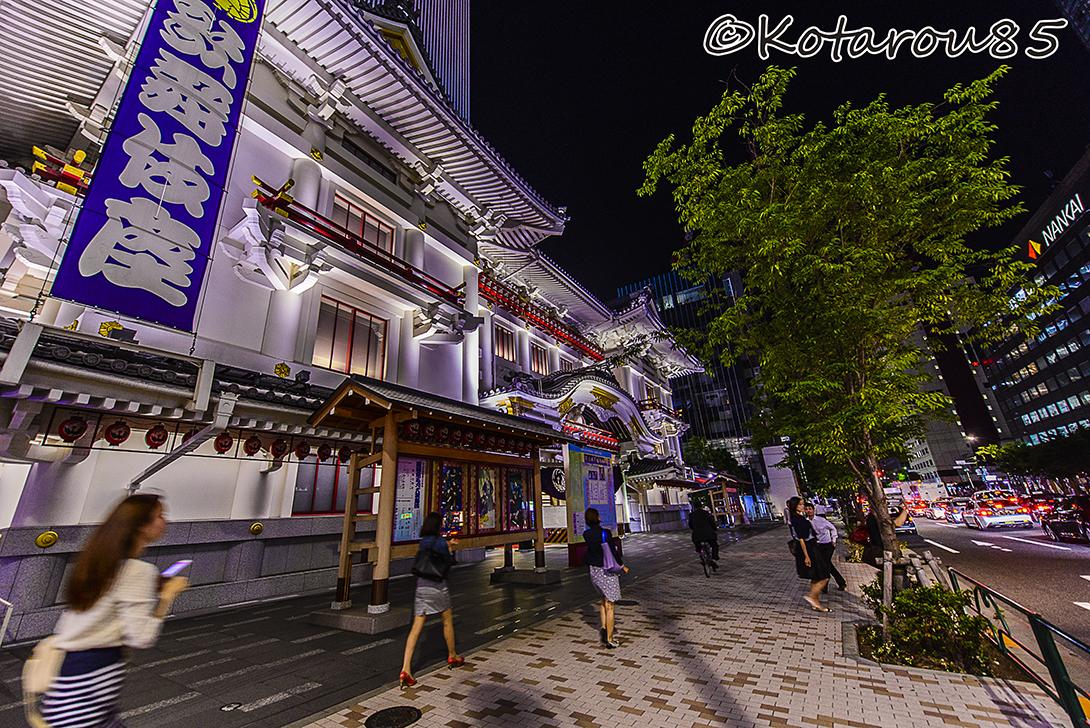 通勤路は歌舞伎座前 20150528
