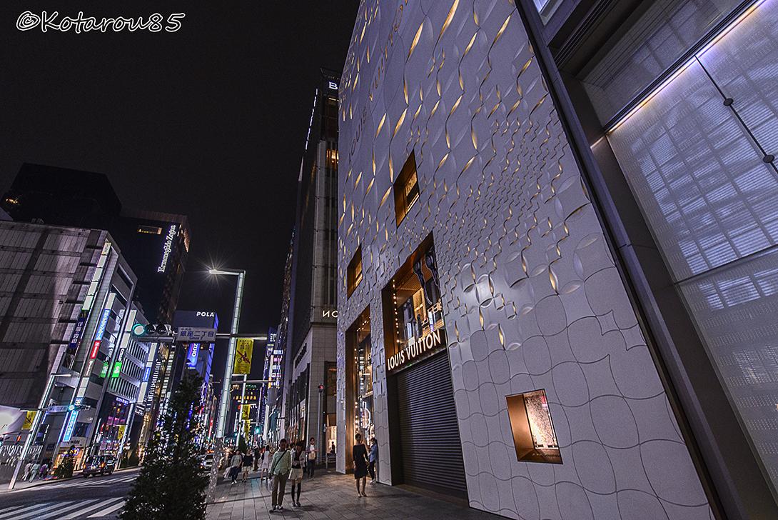 銀座でブランド店 20150531