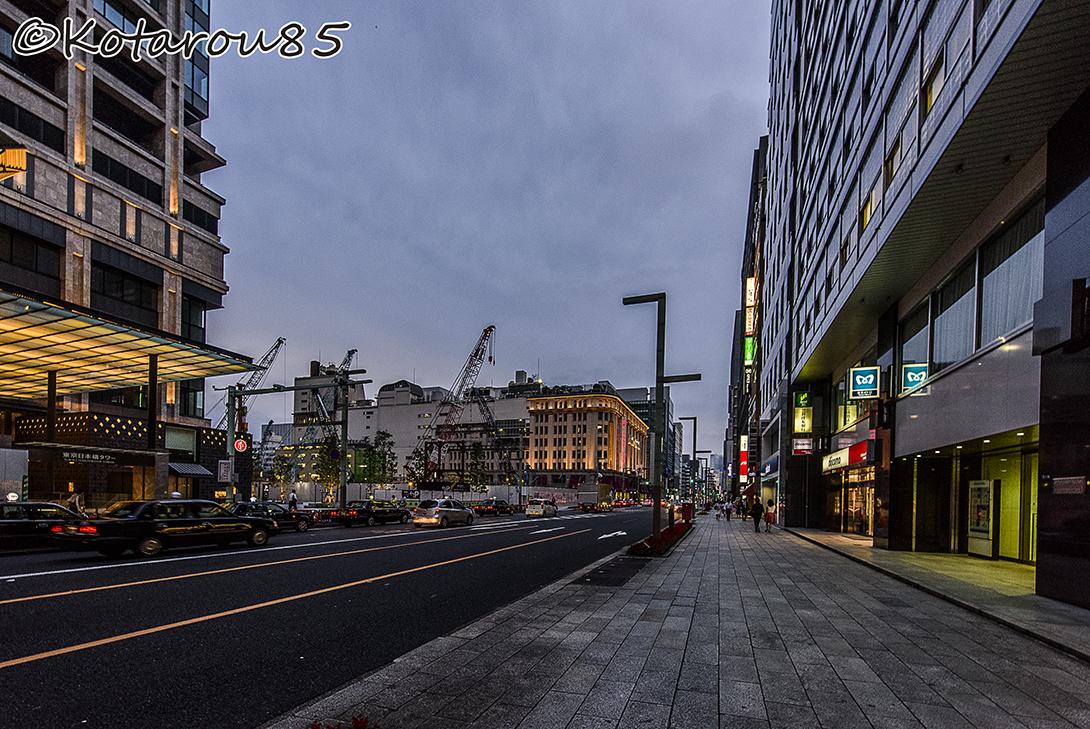 日本橋から銀座まで 20150616