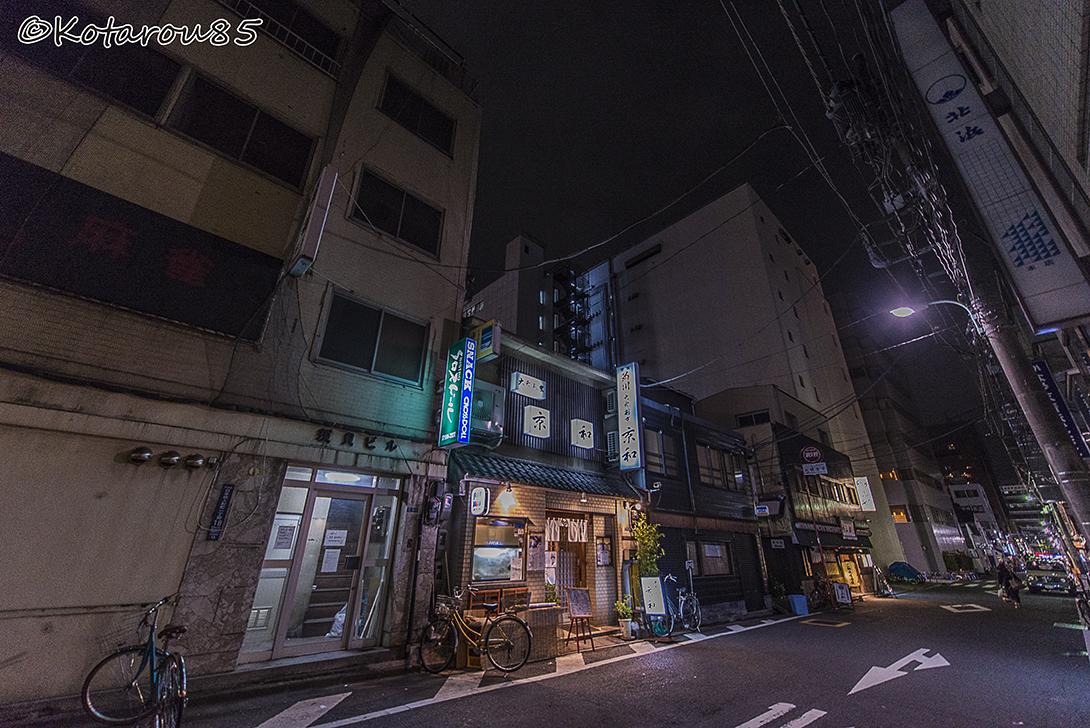 日本橋人形町の路地裏 20150619