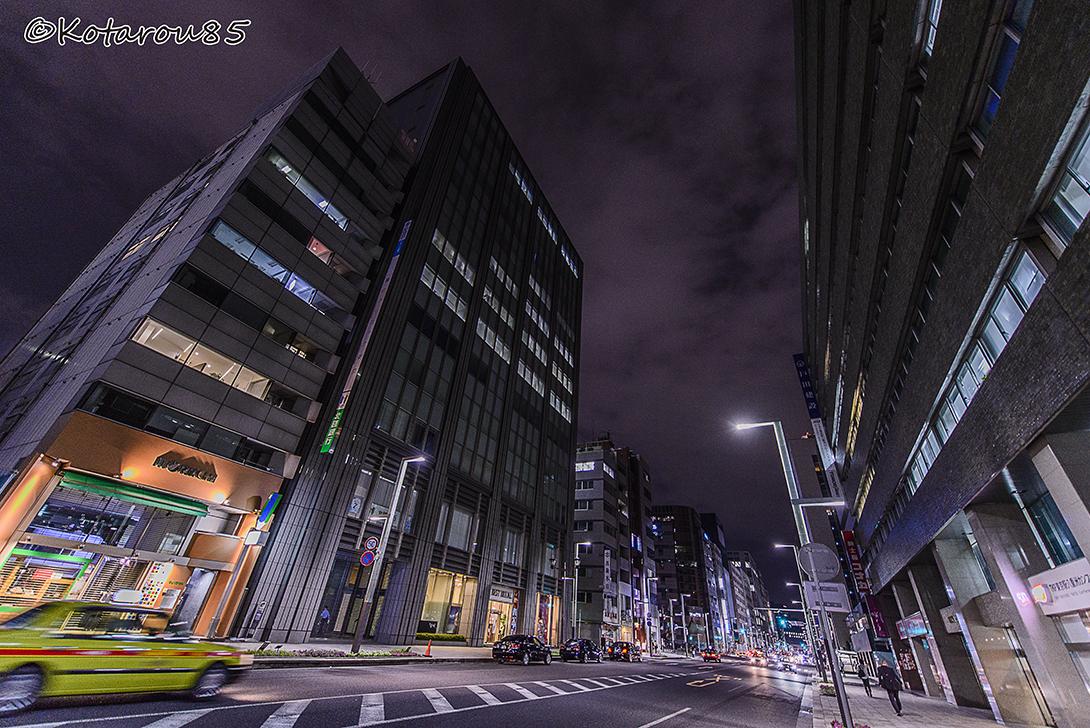 静かな京橋 20150620