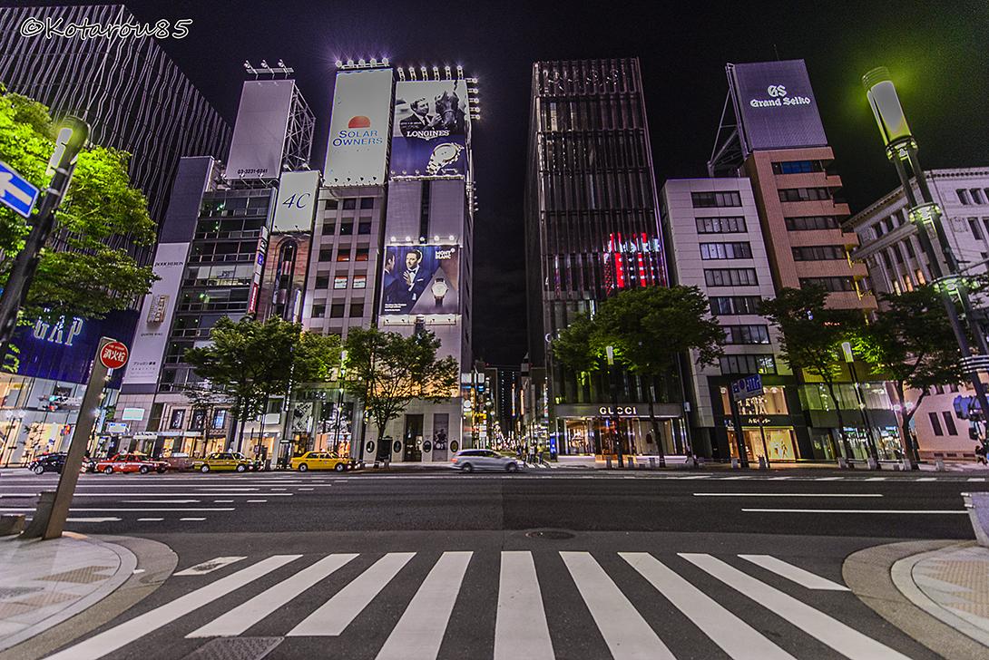 銀座・晴海通り 20150624