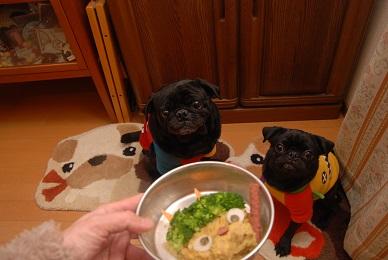 仲良く食べてね