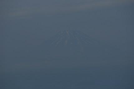 うっす~~ら富士山