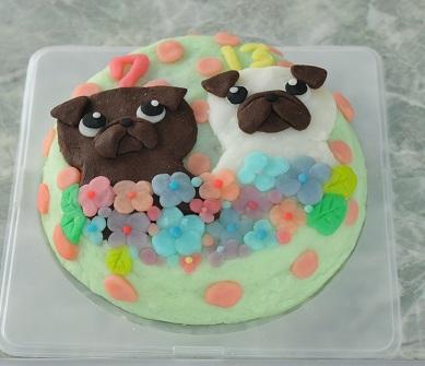 パグッ子ケーキ