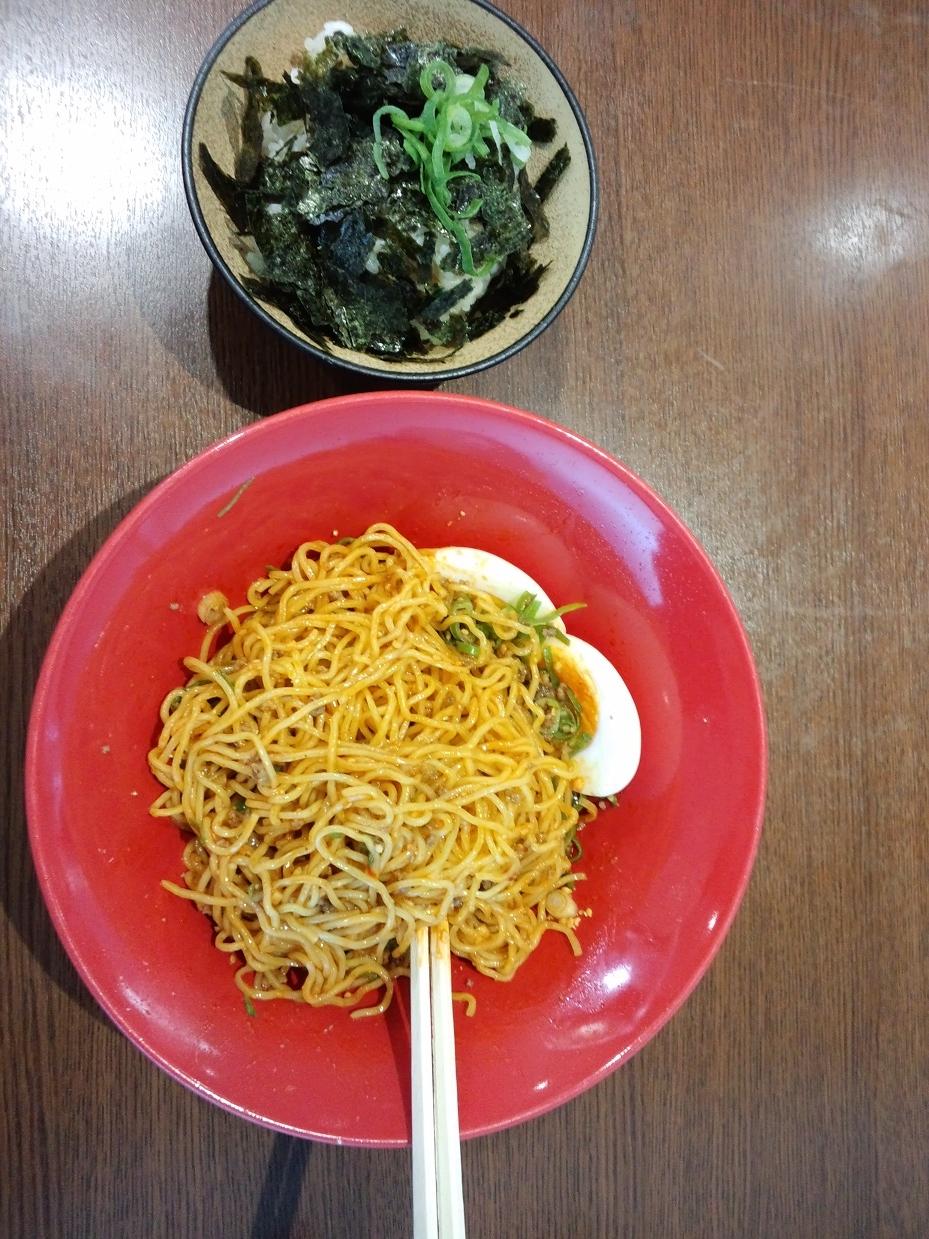 汁無し坦々麺2