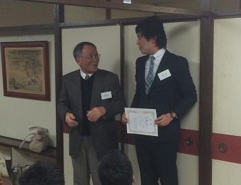 納会2014 優勝者男子