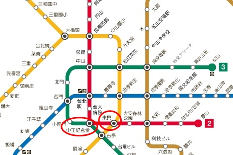 MRT図「
