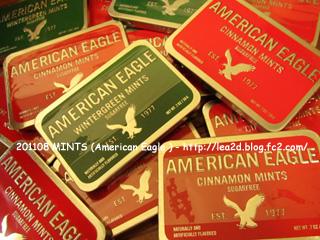 2011年8月 MINTS ( American Eagle ) アメリカンイーグルのミント缶