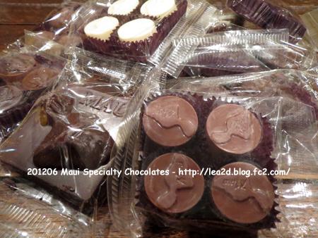 2012年6月 Maui Specialty Chocolat ( マウイ島のチョコレート屋さん )