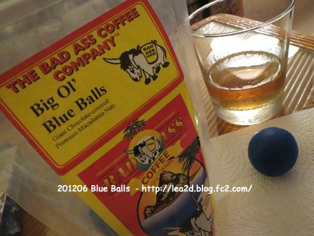 2012年6月 Blue Balls ( Macadamia Nut Chocolate ) 青玉はマカナッツチョコ