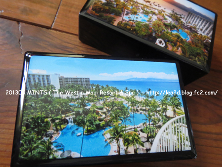 2013年5月 MINTS ( The Westin Maui Resort & Spa ) ウェスティンマウイホテルのミント缶