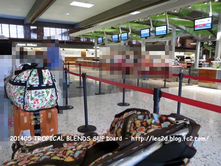 201405 ハワイでスタンドアップパドル(SUP)のボードを買う その3 受託手荷物