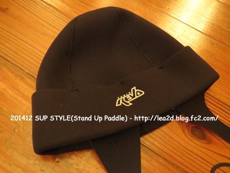 201412 だって気になるSUPスタイル その15 冬仕様の帽子はTabie REVO