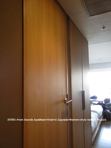 2015年1月 熱海1万円以下の宿:熱海シーサイドスパ&リゾート 禁煙モダン和洋室(平日大人3名利用、6,300円の部屋)