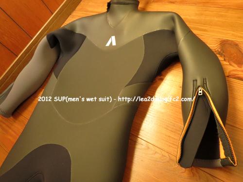 2015年1月 SUP(スタンドアップパドル) 冬用のウェットスーツ(メンズ)