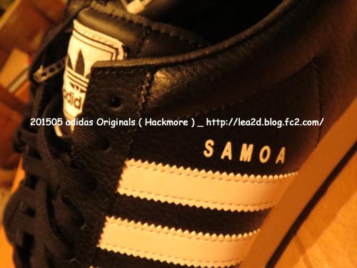 2015年5月 ハワイ ロスドレスで買ったアディダスのスニーカーadidas ( SAMOA LEATHER SHOES )