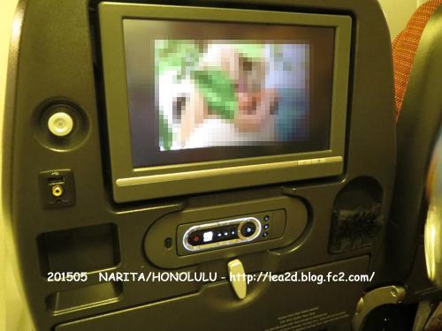 2015年5月 JAL(成田-ホノルル) B767-300