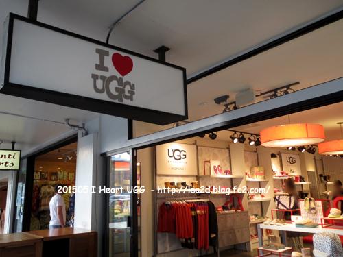 2015年5月 UGGの姉妹ブランド。I Heart UGG (アイ ハート アグ)