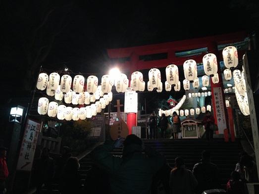 江ノ島帰り道1