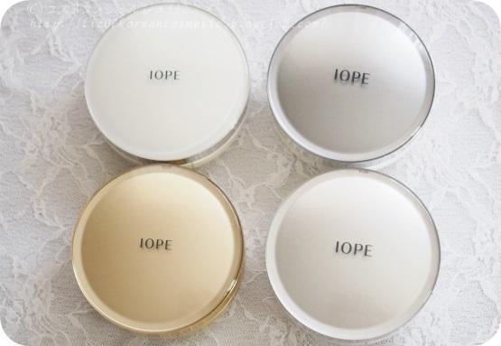 【IOPE】エアクッションRX色比較